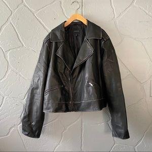 Lane Bryant Leather Jacket